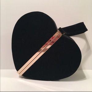 Heart Clutch/Wristlet